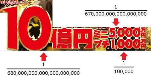10億円夢がある