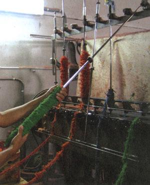 12世紀から伝わる伝統の手織り JARAPA