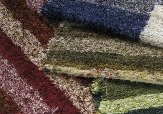 リサイクル繊維から作られるハラパ・ラグ