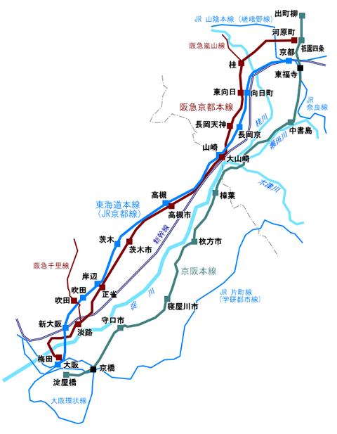 LineMap_OsakaKyoto