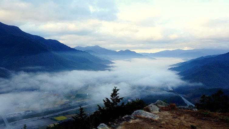 雲海を見に行く