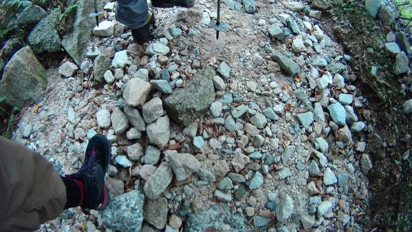 登山 岩場