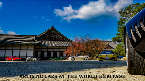 ARTISTIC CARS AT THE WORLD HERITAGE