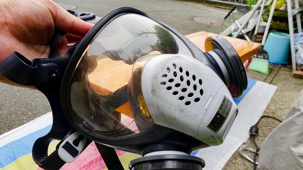 電動サンダー 防塵マスク