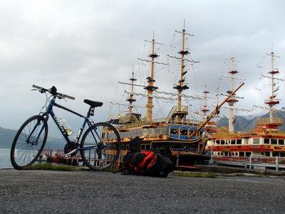 芦ノ湖 自転車