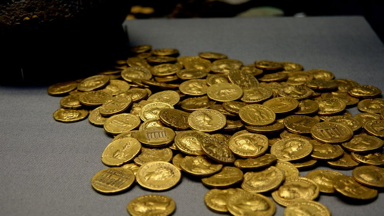 大英博物館 金貨