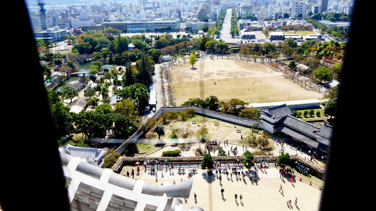姫路城 眺望