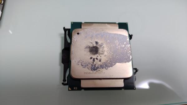 CPU グリス焼け