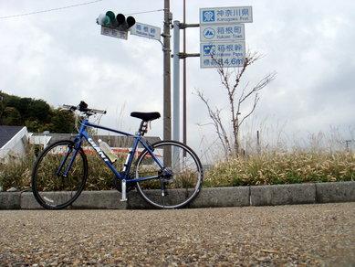 鈴鹿峠 自転車