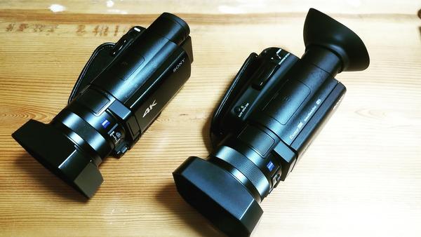 FDR-AX700vsFDR-AX100