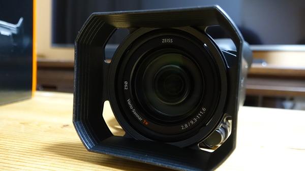 FDR-X700レンズ