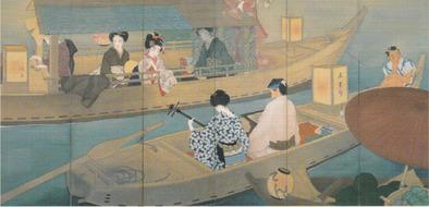 木谷千種 浄瑠璃船