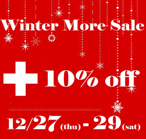 2018Winter More Sale +10%_12月