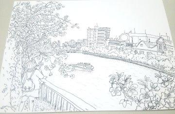 桜ノ宮公園線かき