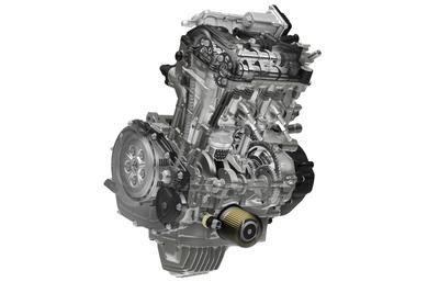P12_2水冷4ストロークDOHC4バルブ2気筒250ccエンジン