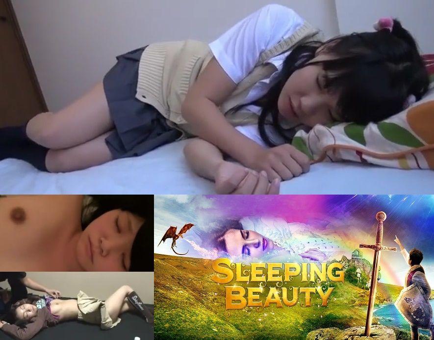 【犯罪臭Max】 眠っている女の子にイタズラ。~Sleeping Beauty~||芸能人・お宝・その他系,のえるちゃん,スク水,レイプ,眠姦
