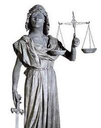 正義の女神像