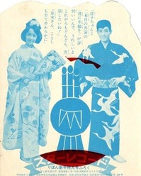 舟木一夫・内藤洋子・りぼん43-1裏
