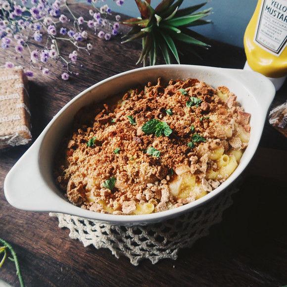 アメリカの定番家庭料理「マカロニ&チーズ」をグラハムクッキーで極上のおいしさに!【ネトメシ】