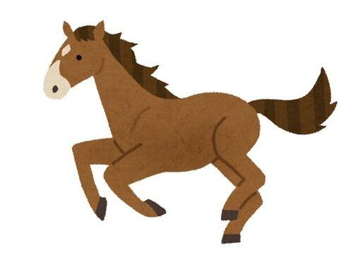 「このとき、馬と彼女がそっくりだと思ってしまった…」とあるデート中の写真