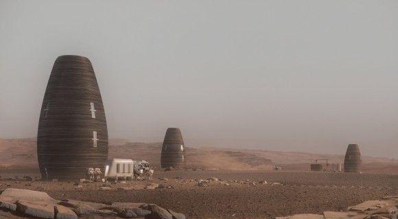 NASAが3Dプリントで作れる火星用居住ポッド「マーシャ」のモデルを公開