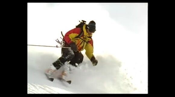 これが世界のレジェンド。超急斜面に挑んだエクストリームスキープレーヤー、ダグ・クームスの物語