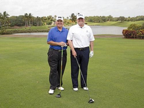 トランプ大統領のゴルフ記録がハッキングされていたことが判明…腕前を低く見せる目的か
