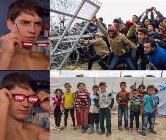 【悲報】「メキシコ不法難民」をCNNメガネで見ると…