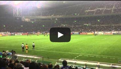 2013060402[動画]2014W杯アジア最終予選 日本 1 - 1 オーストラリア(2013/06/04) - 本田同点PK~試合終了まで
