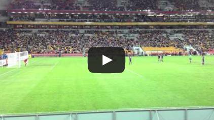 2012061201[動画]2014 W杯 アジア最終予選 オーストラリア代表 対 日本代表 本田圭祐 FK