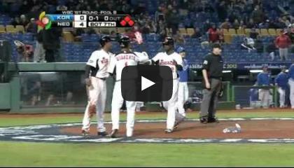 2013wbc-n07[動画]侍ジャパンの決勝の相手?かもしれない「オランダ」 対韓国(03/02)