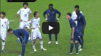 kagawa2012a001[動画]香川真司のゴール - 日本代表 1 - 0 フランス(2012/10/12)