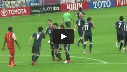 2012060201[動画]岡崎慎司ゴール(3-0) 2014ワールドカップアジア最終予選 オマーン戦 3-0