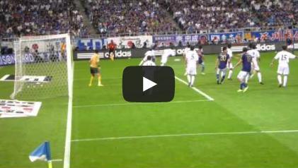 2011090203[動画]サッカーW杯アジア3次予選 日本対北朝鮮 ロスタイム同点弾