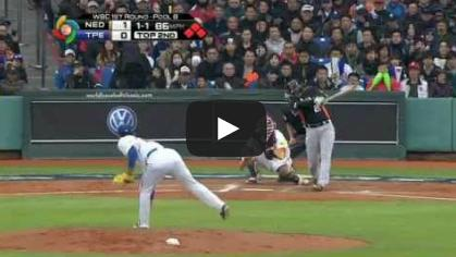 2013wbc-n06[動画]侍ジャパンの決勝の相手?かもしれない「オランダ」 対台湾(03/03)