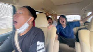 【炎上】レペゼン地球さん、高速道路をシートベルト無しで走行している動画を公開してしまう