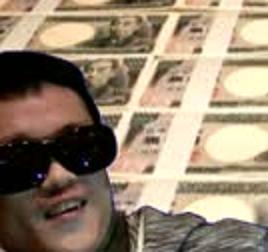 押すと1兆円貰える代わりにsyamuさんが通貨発行権を手に入れるボタン