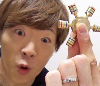 アホのセイキン「○千円したハンドスピナー5分も回りました!」 ぼく「ほーん」
