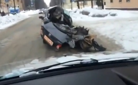 ロシアのトヨタカローラ