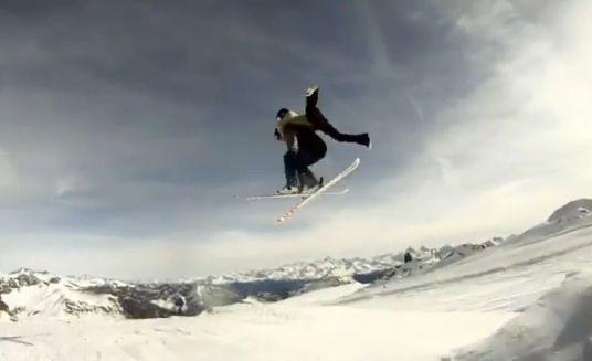 スキージャンプ001