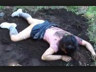 【拉致レイプ】クロロホルムで拉致したロリJSの処女オマンコ犯してドクッドクッと孕ませ中出しww