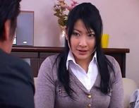 【ミニスカ若妻レイプ】パツパツミニスカ若妻さんが営業マンにレイプされM字開脚クンニからイラマチオレイプww