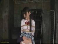 【SMキメセク】セーラー服が似合いすぎな木村つなちゃんが媚薬キメセクで緊縛SMで悶えちゃうアクメ地獄ww