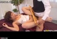 【性奴隷調教】監禁された美少女紗倉まなちゃんが快楽に負けて自ら腰を振りアクメを求める立派な性奴隷と化すww