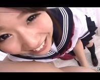 【ミニスカ女子高生CFNM】セーラー服のミニスカ女子高生が全裸M男おっさんの手コキ乳首舐めしたりマジシコな件wwうはぁww