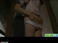 【不倫人妻】むちむちドエロな熟女人妻と絶倫オッサンが和室の布団の上で激しく絡み合う不倫セックスww