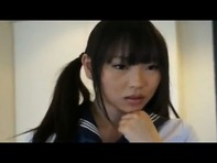 【ハーレム逆3P】女子高生とツインテールロリJC中学生がレズりなからの制服ノーパンでハーレム逆3Pセックスとかww