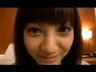 【ノーパン援交】めちゃんこ可愛いみづなれいちゃんがホテルで援交ノーパンセックスww