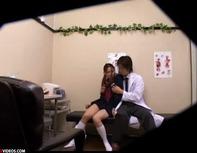 【JCレイプ】生理不順のセーラーJCがロリコン医師に騙されノーパンレイプ!まさかのだいしゅきホールドで妊娠確定ww
