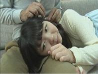 【JCフェラチオ】お父さんのチンポに興味津々なJCロリっ娘白井ゆずかちゃんがジュボジュボフェラチオ3P親近相姦ww